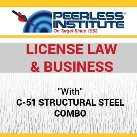 C-51 Structural Steel Book & Online Practice Exams Combo Package