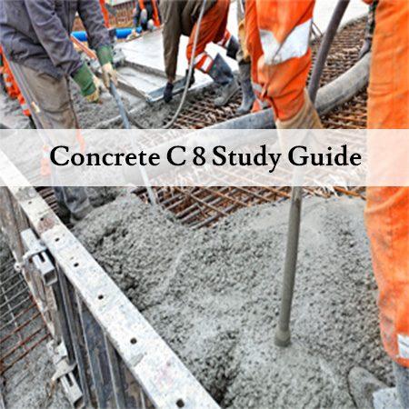 Concrete-C-8-Study-Guide