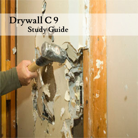 Drywall-C-9-Study-Guide