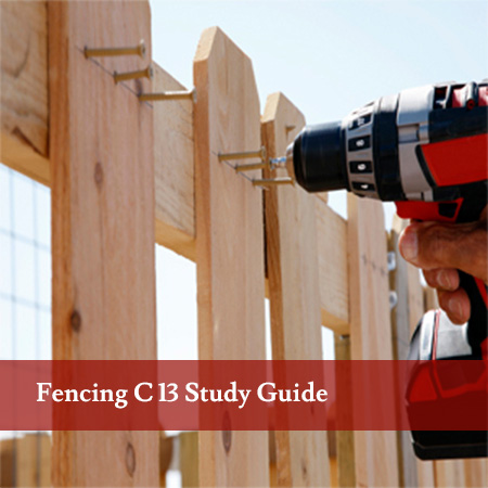 Fencing-C-13-Study-Guide