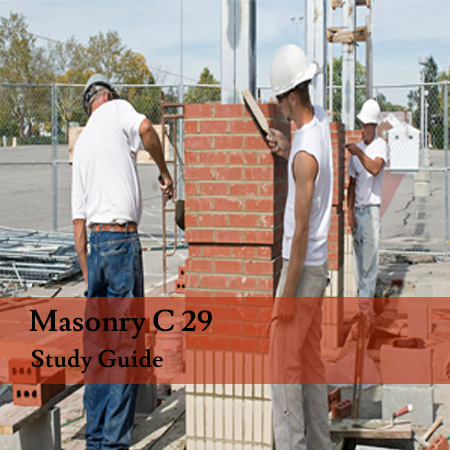 C 29 Masonry Contractors Exam Preparation And Study Guide