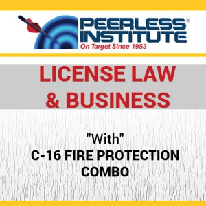 C-16 Fire Protection Book & Online Practice Exams Combo Package