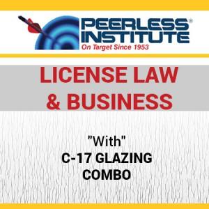 C-17 Glazing Book & Online Practice Exams Combo Package