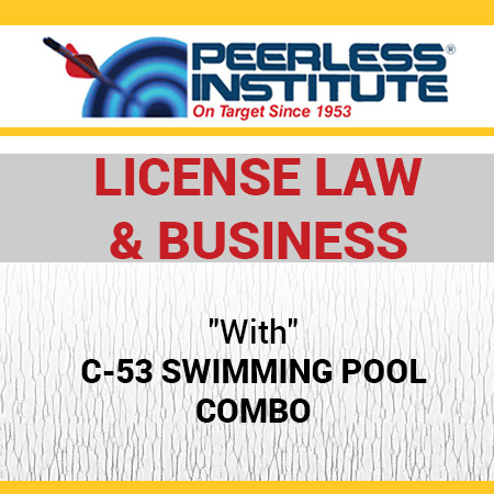 C-53 Swimming Pool Book & Online Practice Exams Combo Package