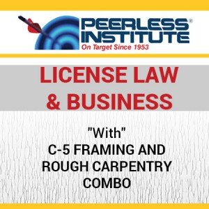 C-5 Framing and Rough Carpentry Book & Online Practice Exams Combo Package