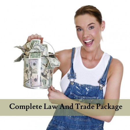Complete Law and Trade Package